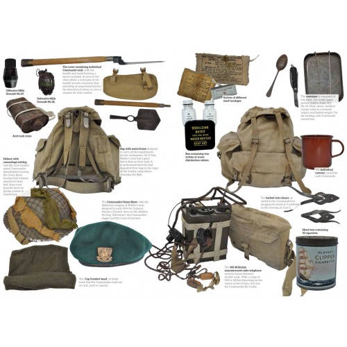 KIEFFER COMMANDO - equipment