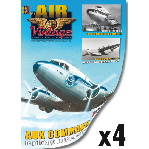 Abonnement 1 an Air Vintage - Export