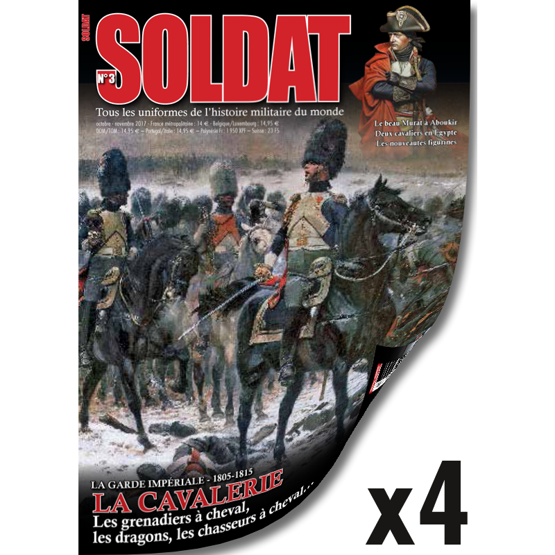 Abonnement Soldat - 1 an - Export