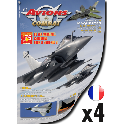 Abonnement Avions de Combat - 1 an - France