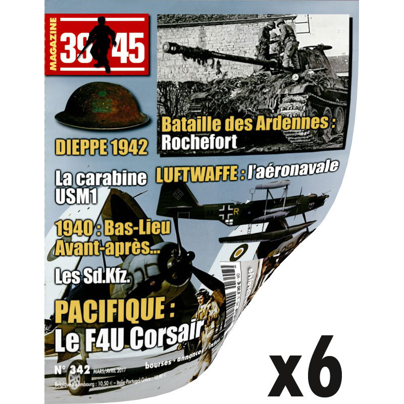 Abonnement 39-45 1 an - Export