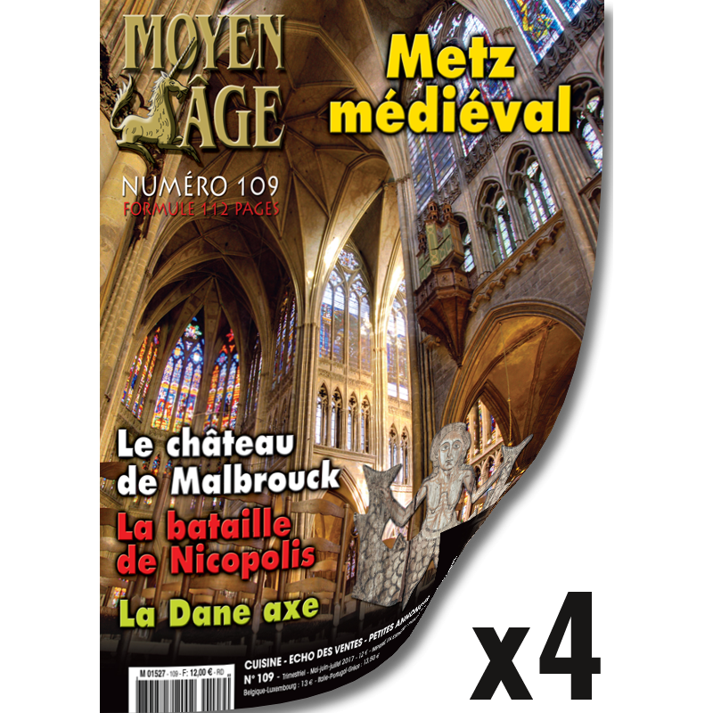 Abonnement Moyen Age - 1 an - France