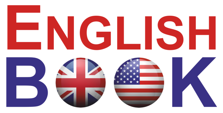 logo english book